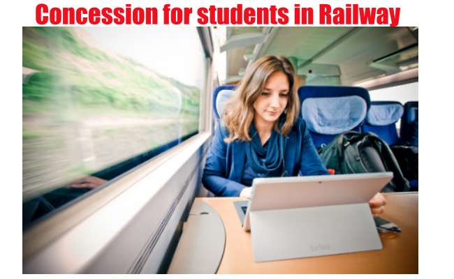 Concession for students in Indian Railway- full explanation here